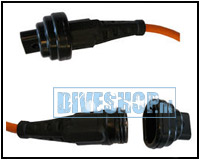 Protection cap connector cable torch