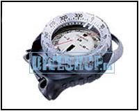 Kompas voor aan het CB console