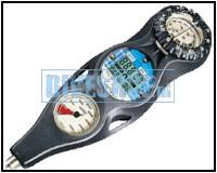 3-delig Console met digitale dieptemeter