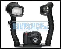 DC1400HD Pro Duo Flitser en Lamp