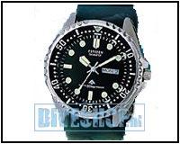 Diver Zwart AJ9230-08EE