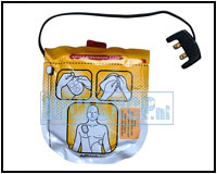 Defibrilation electrodes for Adults for Lifeline View