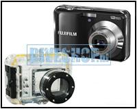 Camera housing for the Nikon S3000