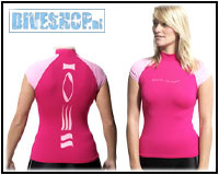 Hydroskin Short sleeve Pink Woman