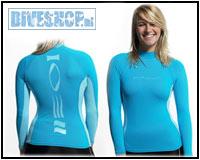 Hydroskin Longsleeve Turquoise Woman