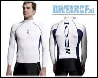 Hydroskin Longsleeve White Men