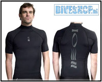 Hydroskin Short sleeve Black Men