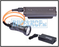 Kabellamp LED 2100 met accupakket