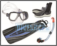 Snorkel set Look/Express Adj