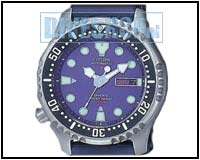 Automatic Diver Blauw NY0040-17LE