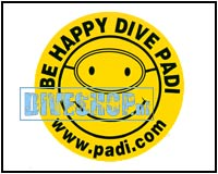 Dive Happy Sticker