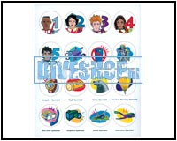 Aquamission Stickers