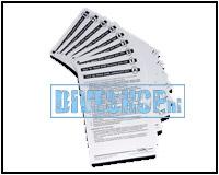Cue Cards Tec Trimix
