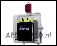 AED Plus Closet, plexiglass