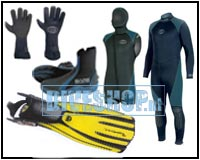Combination deal neoprene and fins